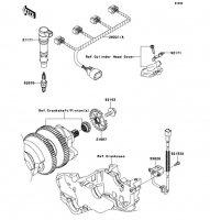 Ignition System 1400GTR 2008(ZG1400A8F) - Kawasaki純正部品