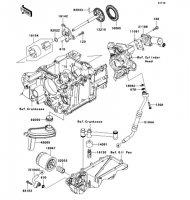 Oil Pump 1400GTR 2008(ZG1400A8F) - Kawasaki純正部品