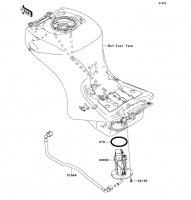Fuel Pump 1400GTR 2008(ZG1400A8F) - Kawasaki純正部品