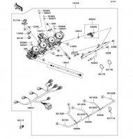 Throttle 1400GTR 2008(ZG1400A8F) - Kawasaki純正部品