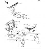 Muffler(s) 1400GTR 2008(ZG1400A8F) - Kawasaki純正部品
