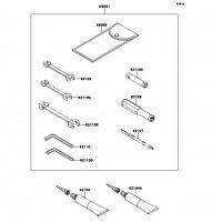 Owner's Tools 1400GTR ABS 2013(ZG1400CDF) - Kawasaki純正部品