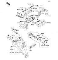 Taillight(s) 1400GTR ABS 2013(ZG1400CDF) - Kawasaki純正部品