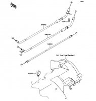 Cables 1400GTR ABS 2013(ZG1400CDF) - Kawasaki純正部品