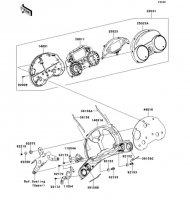Meter(s) 1400GTR ABS 2013(ZG1400CDF) - Kawasaki純正部品