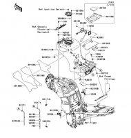 Fuel Tank 1400GTR ABS 2013(ZG1400CDF) - Kawasaki純正部品
