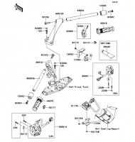 Handlebar 1400GTR ABS 2013(ZG1400CDF) - Kawasaki純正部品