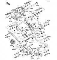 Swingarm 1400GTR ABS 2013(ZG1400CDF) - Kawasaki純正部品