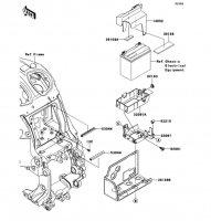 Battery Case 1400GTR ABS 2013(ZG1400CDF) - Kawasaki純正部品