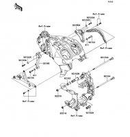 Engine Mount 1400GTR ABS 2013(ZG1400CDF) - Kawasaki純正部品