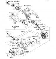 Drive Shaft/Final Gear 1400GTR ABS 2013(ZG1400CDF) - Kawasaki純正部品