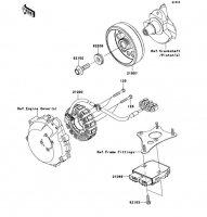 Generator 1400GTR ABS 2013(ZG1400CDF) - Kawasaki純正部品
