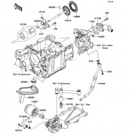 Oil Pump 1400GTR ABS 2013(ZG1400CDF) - Kawasaki純正部品