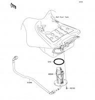 Fuel Pump 1400GTR ABS 2013(ZG1400CDF) - Kawasaki純正部品