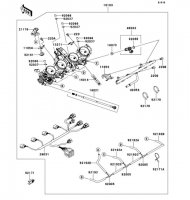 Throttle 1400GTR ABS 2013(ZG1400CDF) - Kawasaki純正部品