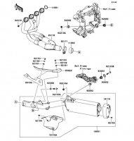 Muffler(s) 1400GTR ABS 2013(ZG1400CDF) - Kawasaki純正部品