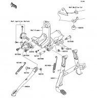 Stand(s) 1400GTR ABS 2012(ZG1400CCF) - Kawasaki純正部品