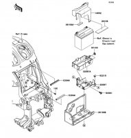 Battery Case 1400GTR ABS 2012(ZG1400CCF) - Kawasaki純正部品