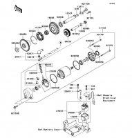 Starter Motor 1400GTR ABS 2012(ZG1400CCF) - Kawasaki純正部品