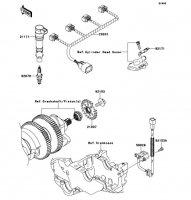 Ignition System 1400GTR ABS 2012(ZG1400CCF) - Kawasaki純正部品