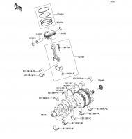 Crankshaft/Piston(s) 1400GTR ABS 2012(ZG1400CCF) - Kawasaki純正部品