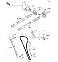 Camshaft(s)/Tensioner 1400GTR ABS 2012(ZG1400CCF) - Kawasaki純正部品