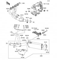 Muffler(s) 1400GTR ABS 2012(ZG1400CCF) - Kawasaki純正部品
