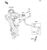 イグニッションシステム D-TRACKER 125 2010(KLX125DAF) - Kawasaki純正部品