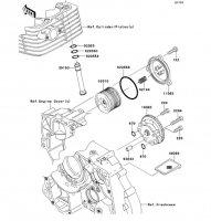 オイルポンプ D-TRACKER 125 2010(KLX125DAF) - Kawasaki純正部品