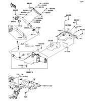 マフラ D-TRACKER 125 2010(KLX125DAF) - Kawasaki純正部品