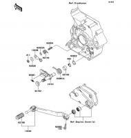 ギヤチェンジメカニズム D-TRACKER X 2008(KLX250V8F) - Kawasaki純正部品