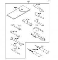 オーナーズツール ELIMINATOR 2008(BN125A8F) - Kawasaki純正部品