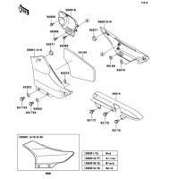 サイドカバー/チェーンカバー ELIMINATOR 2008(BN125A8F) - Kawasaki純正部品
