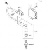 イグニッションシステム ELIMINATOR 2008(BN125A8F) - Kawasaki純正部品