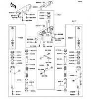 フロントフォーク ELIMINATOR 2006(BN125A6F) - Kawasaki純正部品