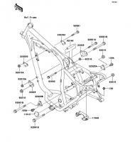 フレームフィッティング ESRRELLA-RS LIMITED EDITION 2006(BJ250G6F) - Kawasaki純正部品