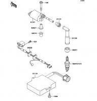 イグニッションシステム ESRRELLA-RS LIMITED EDITION 2006(BJ250G6F) - Kawasaki純正部品