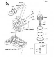 オイルポンプ ZR-7S 2005(ZR750-H5) - Kawasaki純正部品