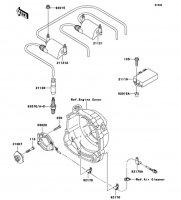 イグニッションシステム ZEPHYR X 2005(ZR400-G9) - Kawasaki純正部品