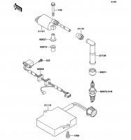 イグニッションシステム ESTRELLA 1997(BJ250-B5) - Kawasaki純正部品