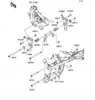 エンジンマウント Ninja 250 2013(EX250LDF) - Kawasaki純正部品