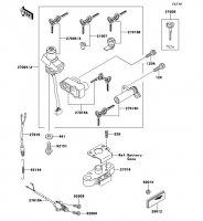 Ignition Switch ZZ-R1100 2001(ZX1100-D9) - Kawasaki純正部品