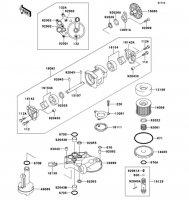 Oil Pump ZZ-R1100 1999(ZX1100-D7) - Kawasaki純正部品