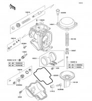 Carburetor Parts ZZ-R1100 1999(ZX1100-D7) - Kawasaki純正部品
