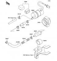 Fuel Pump ZZ-R1100 1999(ZX1100-D7) - Kawasaki純正部品
