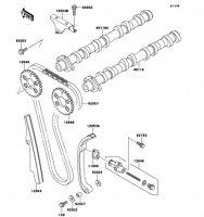 Camshaft(s)/Tensioner ZZ-R1100 1999(ZX1100-D7) - Kawasaki純正部品