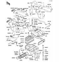 Air Cleaner ZZ-R1100 1999(ZX1100-D7) - Kawasaki純正部品
