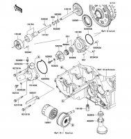 Oil Pump Ninja ZX-9R 2002(ZX900-F1) - Kawasaki純正部品