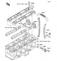 Camshaft(s)/Tensioner Ninja ZX-9R 2002(ZX900-F1) - Kawasaki純正部品