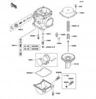 キャブレタパーツ ZEPHYR 750 1995(ZR750-C5) - Kawasaki純正部品